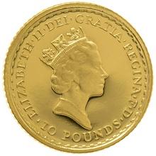 1992 Tenth Ounce Proof Britannia Gold Coin