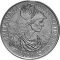 2010 1oz Silver Britannia Coin