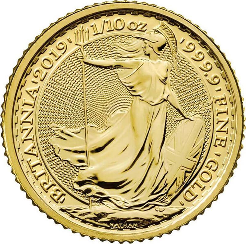 2019 Tenth Ounce Gold Britannia