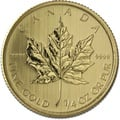 Quarter Ounce Gold Canadian Maple Best Value