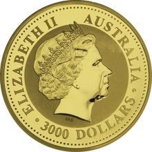 2010 1kg Gold Australian Kangaroo