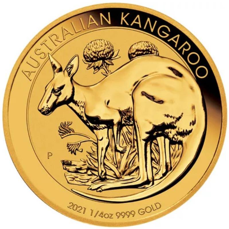 2021 Quarter Ounce Gold Australian Nugget
