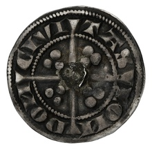 1279-1307 Edward I Silver Penny - London Mint Class 1c