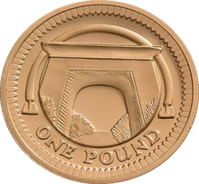 £1 One Pound Proof Gold Coin - Bridges -2006 Egyptian Arch