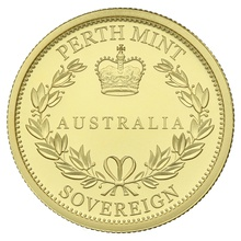 2016 Australian Gold Proof Sovereign - Elizabeth II Old Head