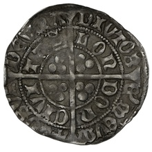 1477-80 Edward IV Silver Groat mm Pierced Cross