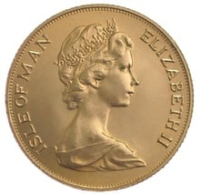 1973 Gold Sovereign - Elizabeth II Decimal Portrait - Isle of Man