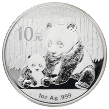2012 1oz Silver Chinese Panda