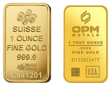 1oz Gold Bars (Pre Owned)