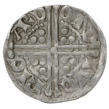 1216-1272 Irish Henry III Silver Penny Ricard on Dublin