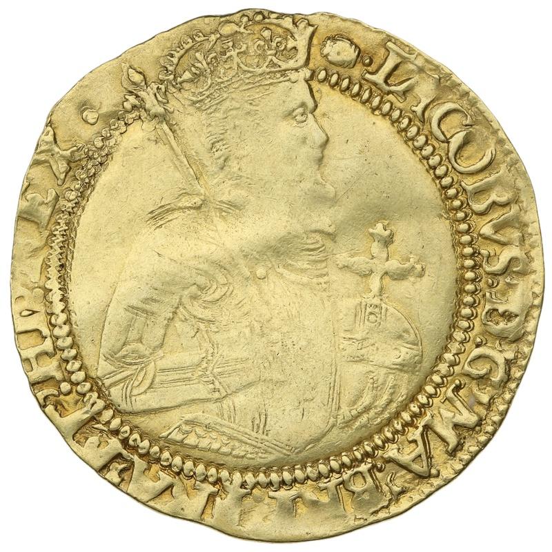 1615-16 James I Gold Unite mm Tun