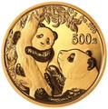 2021 30g Gold Chinese Panda Coin