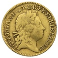 1719 George I Half Guinea Gold Coin