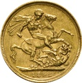 1892 Gold Sovereign - Victoria Jubilee Head - S