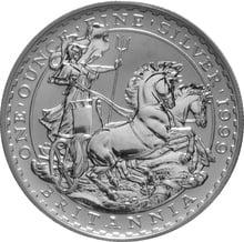 1999 1oz Silver Britannia Coin