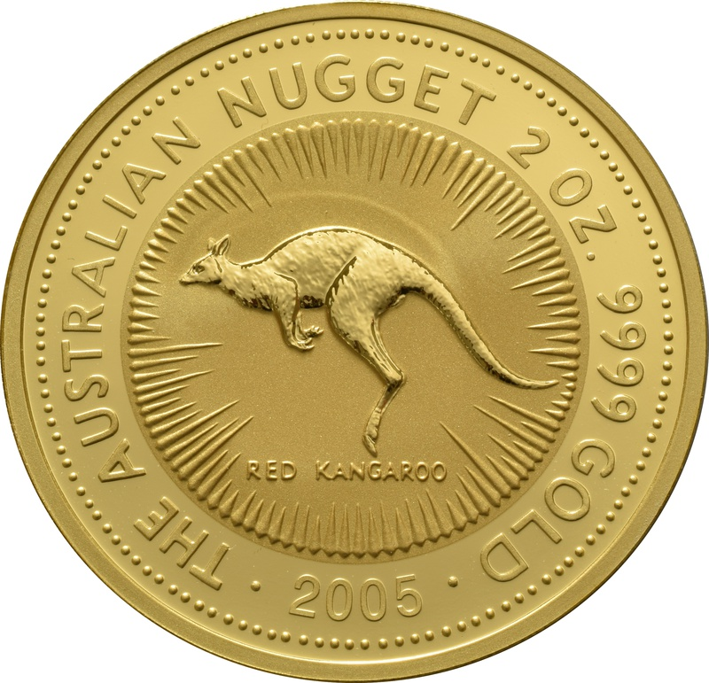 2005 2oz Gold Australian Nugget
