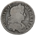 1676 Charles II Silver Crown V OCTAVO