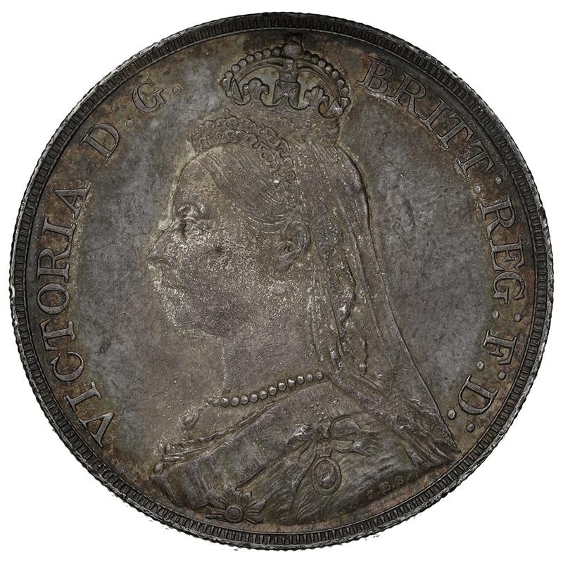 1889 Queen Victoria Silver Crown