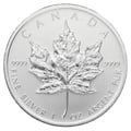 2011 1oz Canadian Maple Silver Coin