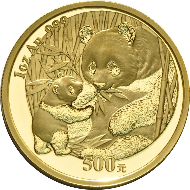 2005 1oz Gold Chinese Panda Coin