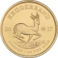 2017 1oz Gold Krugerrand 50th anniversary privy mark