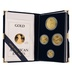1989 Proof Gold Eagle 4-Coin Set Boxed