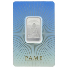 PAMP 10 Gram Silver Buddha Bar Minted