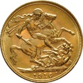 1916 Gold Sovereign - King George V - M