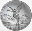2012 1oz Mexican Libertad Silver Coin