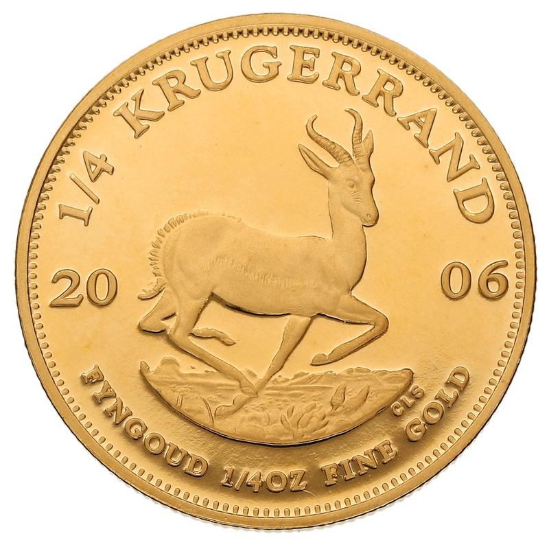 2006 Proof Quarter Ounce Gold Krugerrand