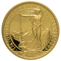 1998 Quarter Ounce Proof Britannia Gold Coin