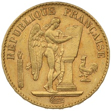 1894 20 French Francs - Guardian Angel - A