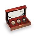 2017 Gold Proof Sovereign Three Coin Set - Fifth Portrait Boxed