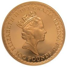 1988 One Ounce Proof Britannia Gold Coin