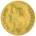 1807 20 French Francs - Napoleon (I) Laureate Head - A