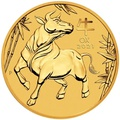 2021 1oz Perth Mint Year of the Ox Gold Coin