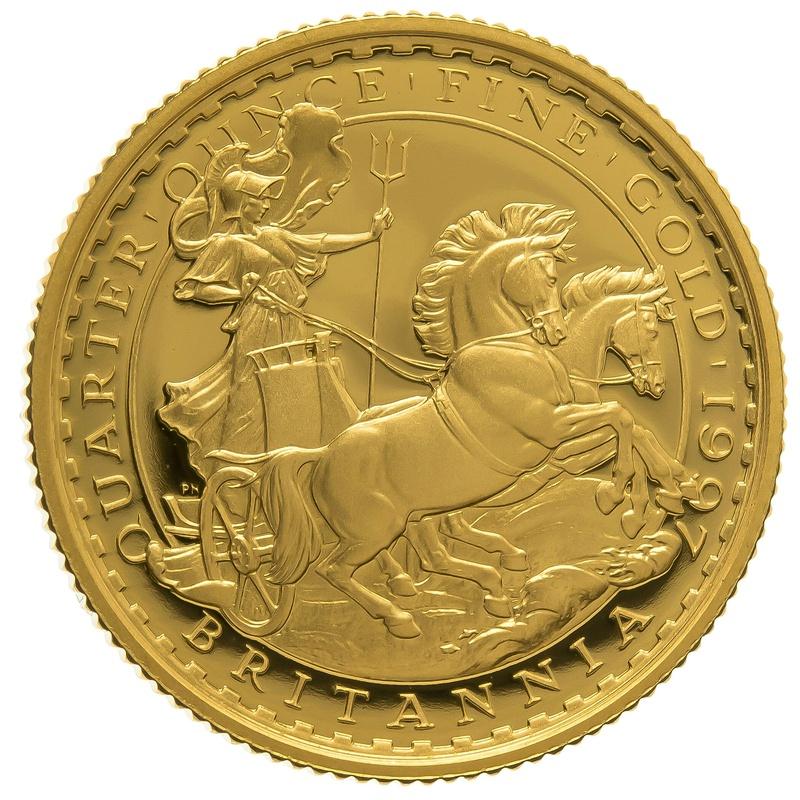 1997 Quarter Ounce Proof Britannia Gold Coin