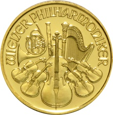2017 Tenth Ounce Gold Austrian Philharmonic