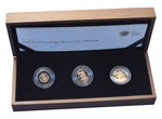 2010 Gold Proof Sovereign Three Coin Standard Set Boxed