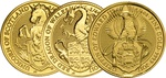 1/4oz Royal Mint Lunar Beasts Series £25 Gold Coins