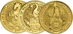 1/4oz Royal Mint Lunar Beasts Standard Series £25 Gold Coins