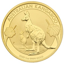 2020 1oz Gold Australian Nugget Gift Boxed