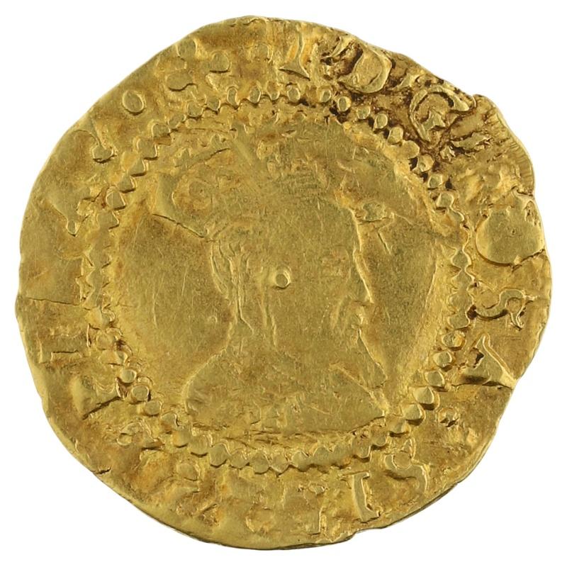 James I Gold Half Crown