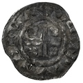 1180-89 Henry II Hammered Silver Penny Raul London - Fine