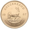1967 1oz Gold Krugerrand 50th Anniversary Mint Mark