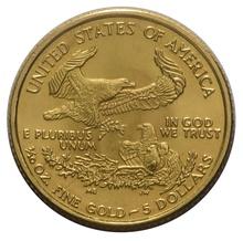 2009 Tenth Ounce Eagle Gold Coin