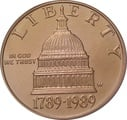 1989 Bicentennial of the Congress - American Gold Commemorative $5