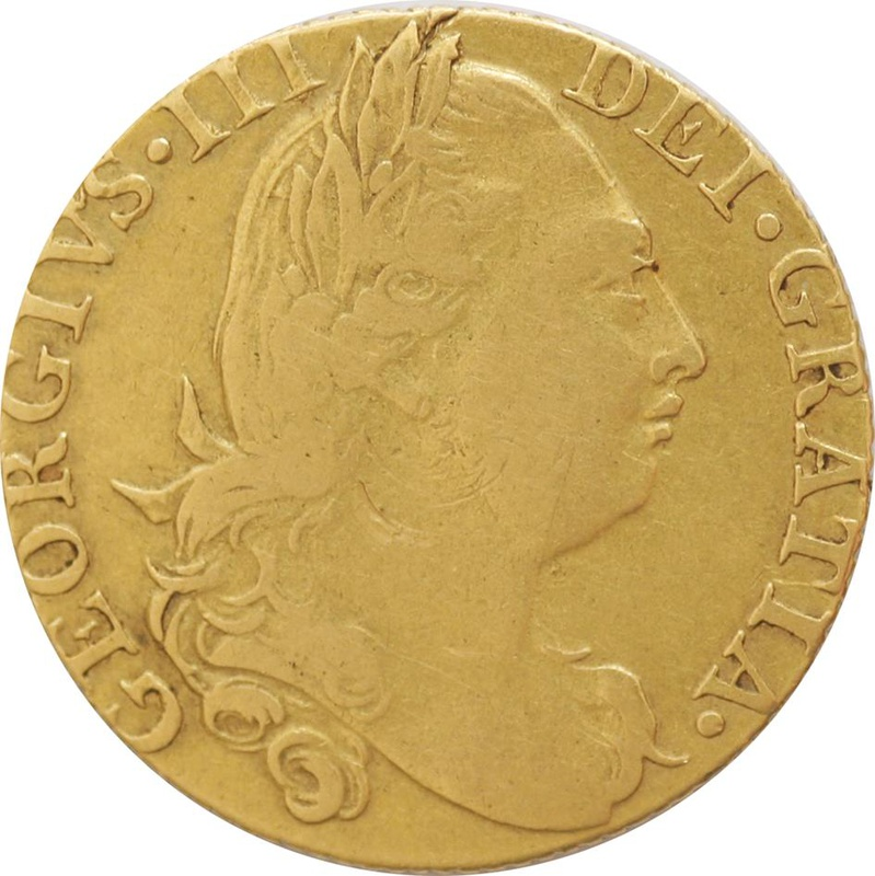 1776 George III Guinea - Good Fine