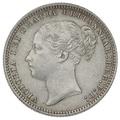 1878 Queen victoria Shilling die no 59