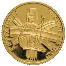 2011 Quarter Ounce Proof Britannia Gold Coin
